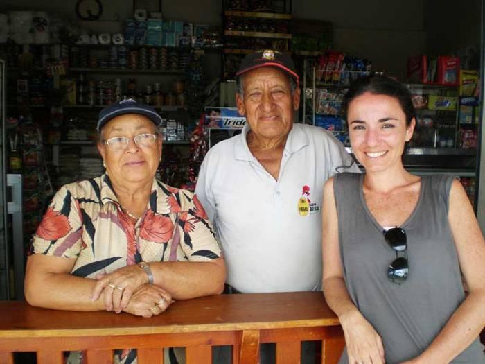 María y Miguel en Vilcabamba