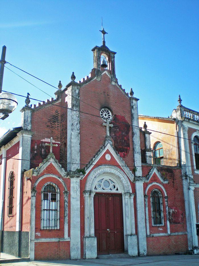 Iglesia en el Malecón de Iquitos