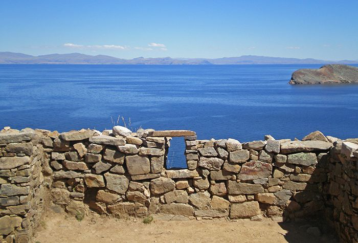 """El """"laberinto"""" en la Isla del Sol"""