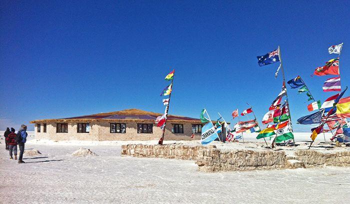 Museo Hotel de Sal y banderines