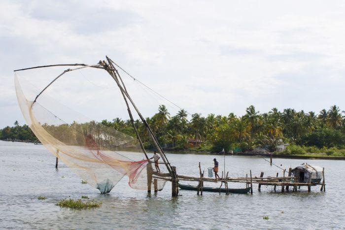 red pescadores kerala backwater