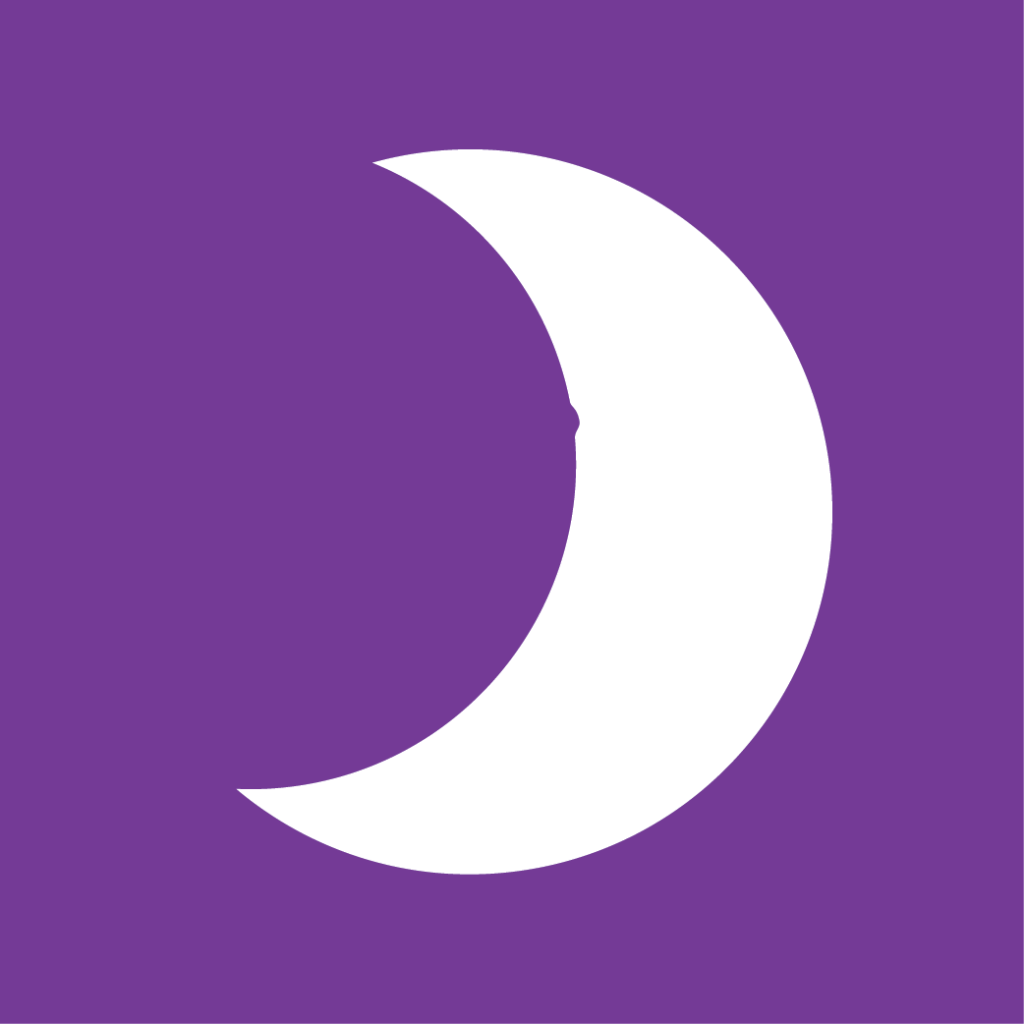 purple moon doula logo for sioux falls doula
