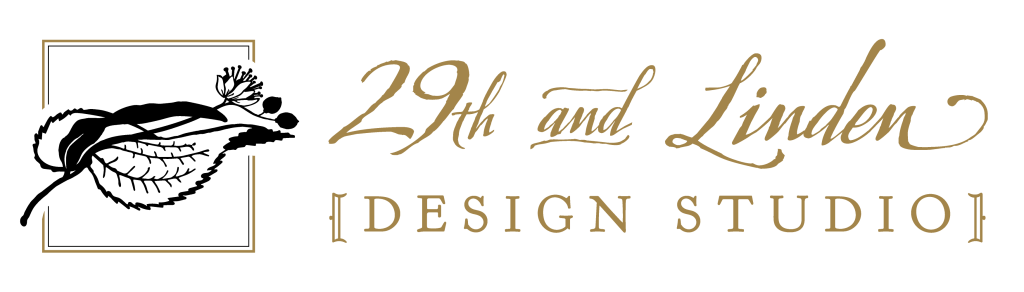 29th and Linden Sioux Falls cabinetry logo with leaf