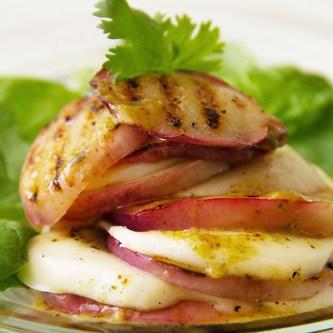 Nectarine & Mozzarella Stacked Salad