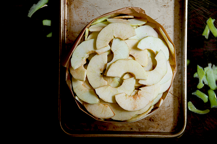 apple gateau from Anne Willan