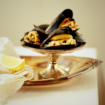 FoodBuzz Challenge #2: Turkish Mussels-Taking it to the ...