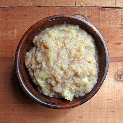 chunky 5 spice applesauce