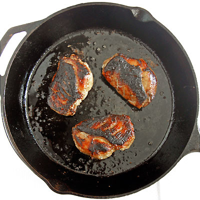 seared duck breasts with honey glaze