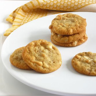 Macadamia Nut White Chocolate Chip Cookies