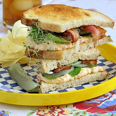 The Caitlin, a Pimiento Sandwich