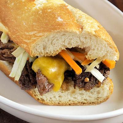 Short Rib sandwich