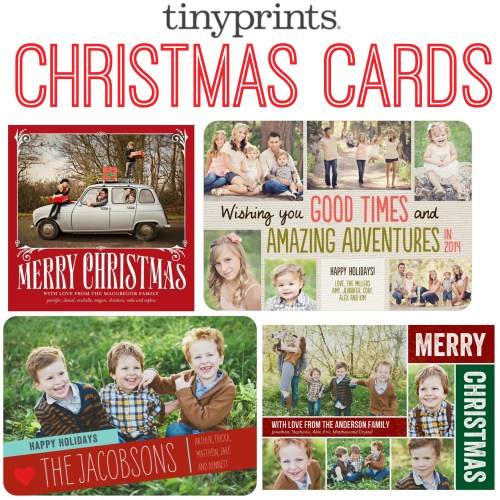 Medium Of Tiny Prints Christmas Cards