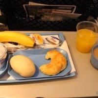 Comparativa de desayunos de las aerolíneas (varias)