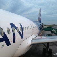 LAN Argentina recibió un nuevo Airbus 320 para su flota