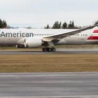 American Airlines recibió su primer Boeing 787