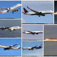 17 aviones en los próximos 42 días