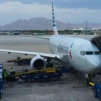 Volviendo de Las Vegas (I/III) LAS LAX por American Airlines