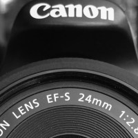 Probando una lente de 24mm en la cámara