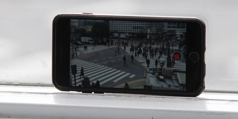 Un time lapse en el cruce más famoso de Tokio