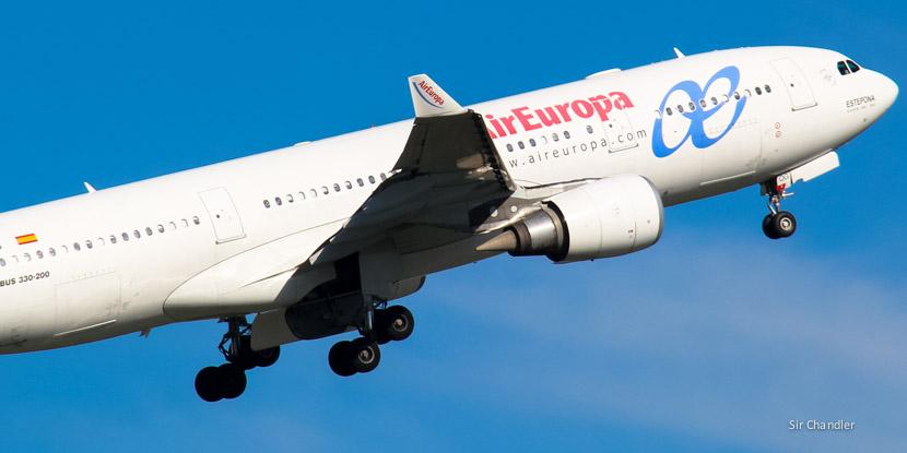 Air Europa arrancaría con Córdoba a fin de año