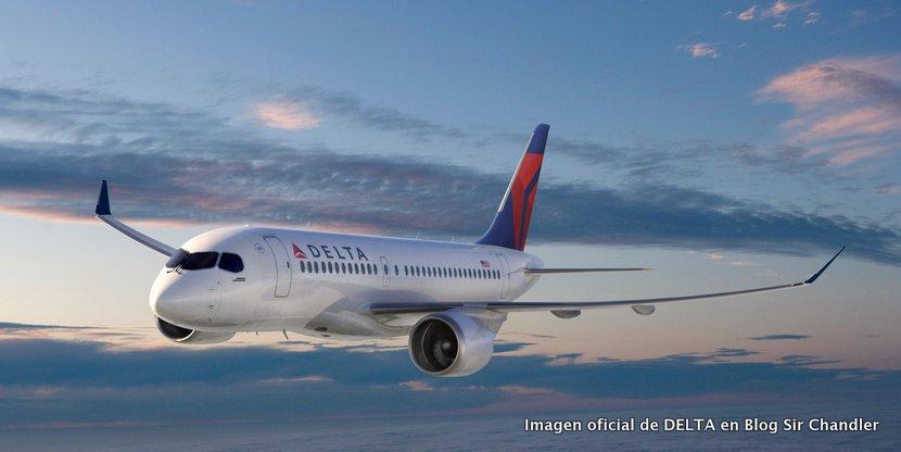 Delta compró 75 aviones canadienses que compiten con los Embraer