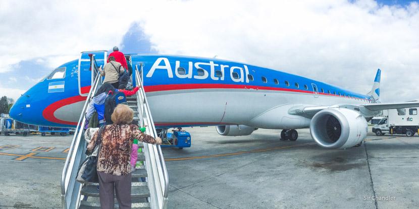 Austral llegará a los 26 Embraer 190 en las próximas semanas