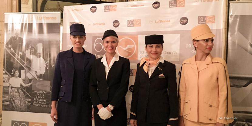 Lufthansa festejó los 60 años de haber llegado a la Argentina