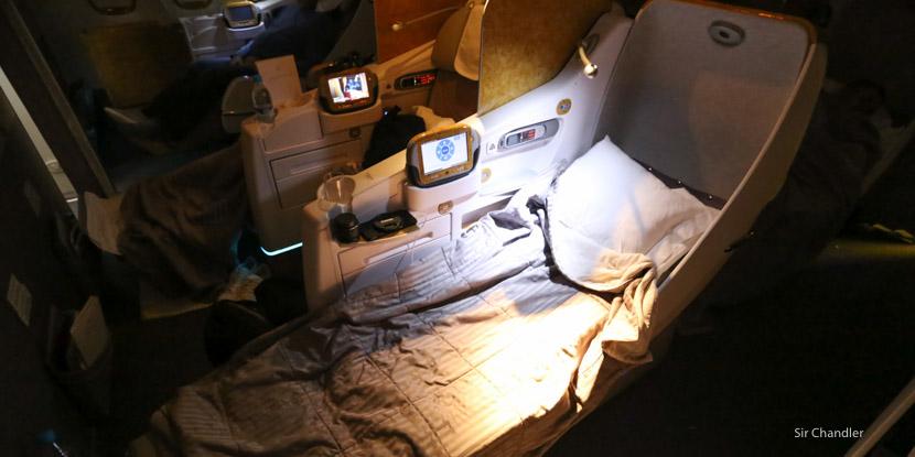 El vuelo con Emirates a Dubai