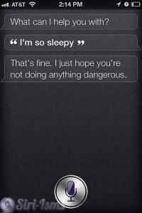 I'm So Sleepy - Funny Siri Sayings