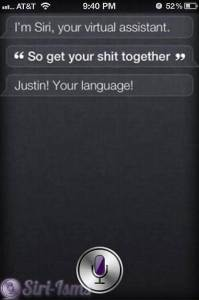 So Get Your Shit Together - Funny Siri Sayings