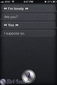 I Am Lonely - Siri Quotes