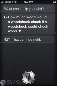 How Much Wood Would A Woodchuck Chuck...