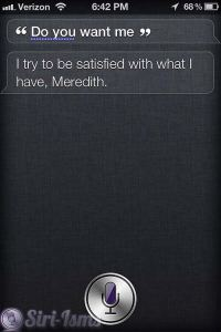 Do You Want Me? Funny Siri Response
