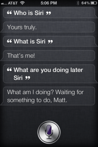 Who is Siri????
