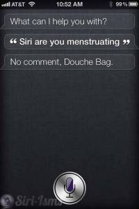Just A Little Too Personal For Siri