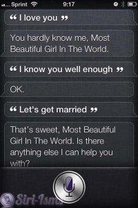 I Love You ~ Funny Siri Sayings