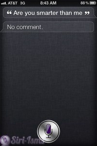 Are You Smarter Than Me? ~ Funny Siri Sayings