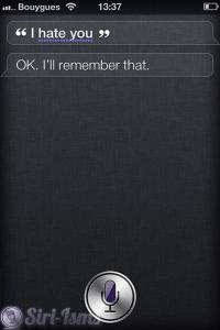 I Hate You ~ Funny Siri Sayings