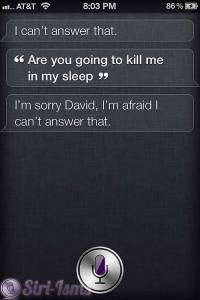Are You Going To Kill Me Too? - Siri Thinks She Is Hal Again
