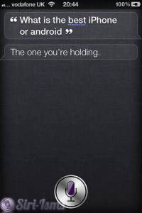 What Is The Best- iPhone or Android? - Siri Plays Favorites