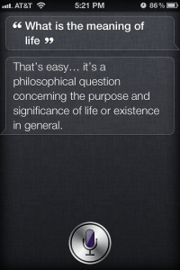What Is The Meaning Of Life? - Funny Siri Sayings