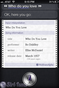 Who Do You Love? - Funny Siri