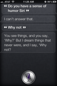 Do You Have A Sense Of Humor? - Siri Says Funny