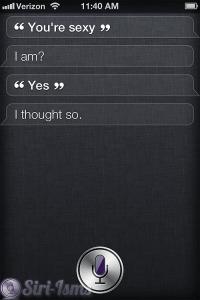You're Sexy Siri