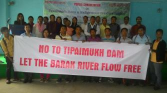 Public consultation on Tipaimukh Dam in Manipur, India held
