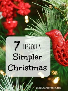 7 Tips for a Simpler Christmas
