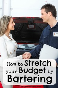 Stretch Your Budget by Bartering