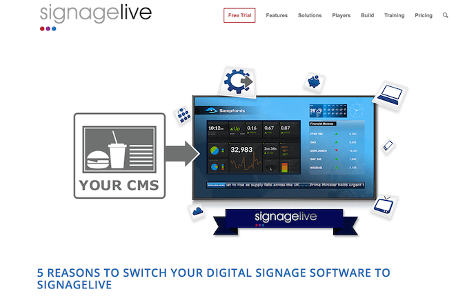 Signagelive page