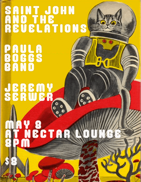 Saint John and the Revelations and the Paula Boggs Band at Nectar May 8 2013