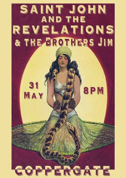 Saint John and the Revelations live at the Coppergate